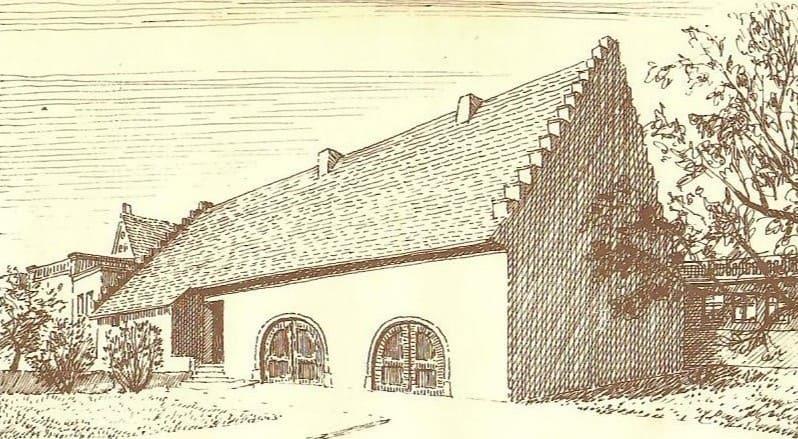 Gebäude als Zehntscheune 1685